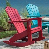 Polywood amerikanische gartenm bel und adirondack chairs for Kunststoff schaukelstuhl