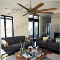 casa bruno fanimation levon deckenventilator mit 8 fl geln f r grosse. Black Bedroom Furniture Sets. Home Design Ideas
