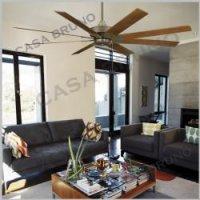 casa bruno fanimation levon deckenventilator mit 8 fl geln f r grosse. Black Bedroom Furniture Sets. Home Design Ideas