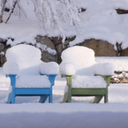 Polywood Adirondack Chairs, available in 13 colours, absolutely weather-proof