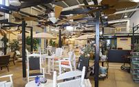 Ventilatoren kunststoff gartenm bel adirondack chairs for Ventilador techo fanaway