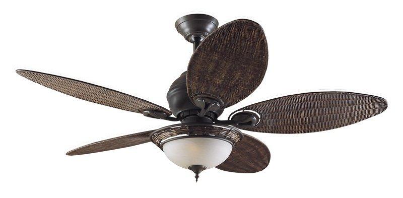 Caribbean breeze ventilador de techo bronce antiguo 411 75 - Ventiladores de techo antiguos ...