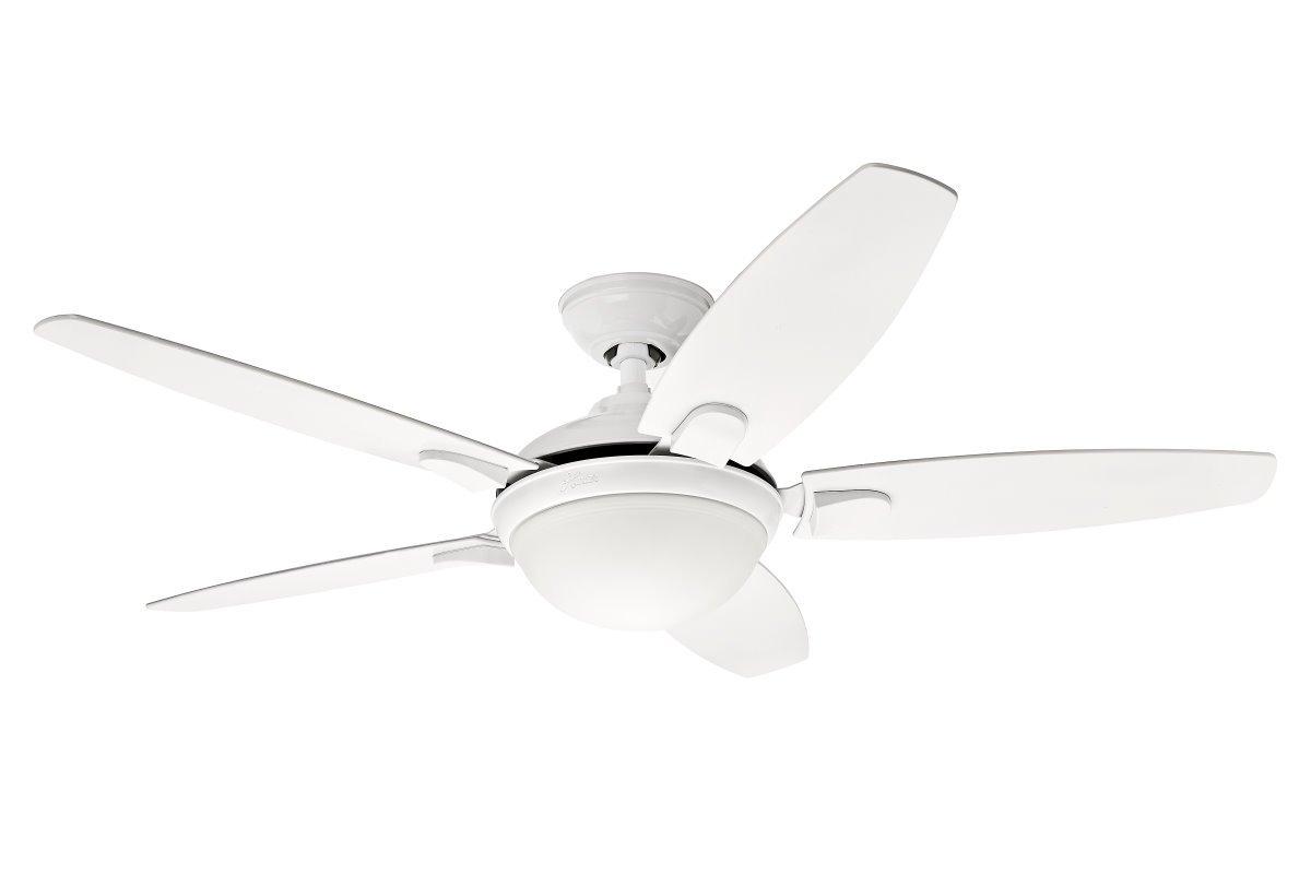 contempo ceiling fan Ø 132 cm, with light, white, 289,00 &euro