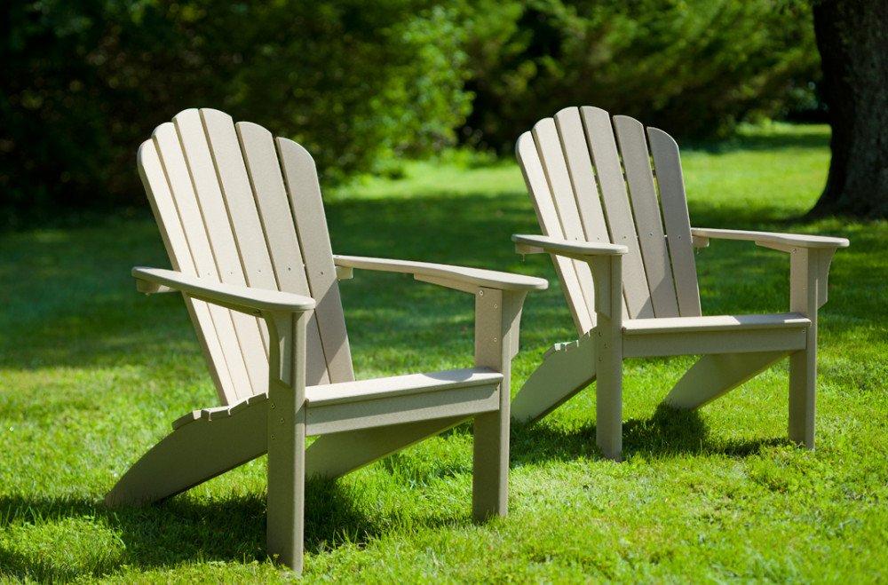 Mallorca adirondack chair alsterstuhl sandfarben casa Composite adirondack chairs