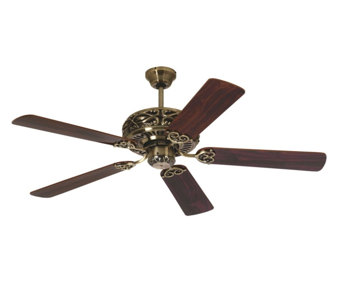 polished with ceiling westinghouse fans fan lighting lights monarch brass trio deckenventilator a en antique von cm ceilings
