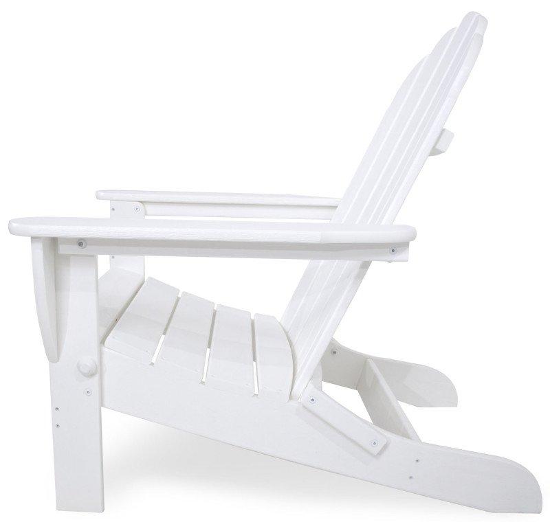 Obi Gartenmobel Ontario : Polywood Adirondack Chair klappbar, weiss, Casa Bruno  American Home