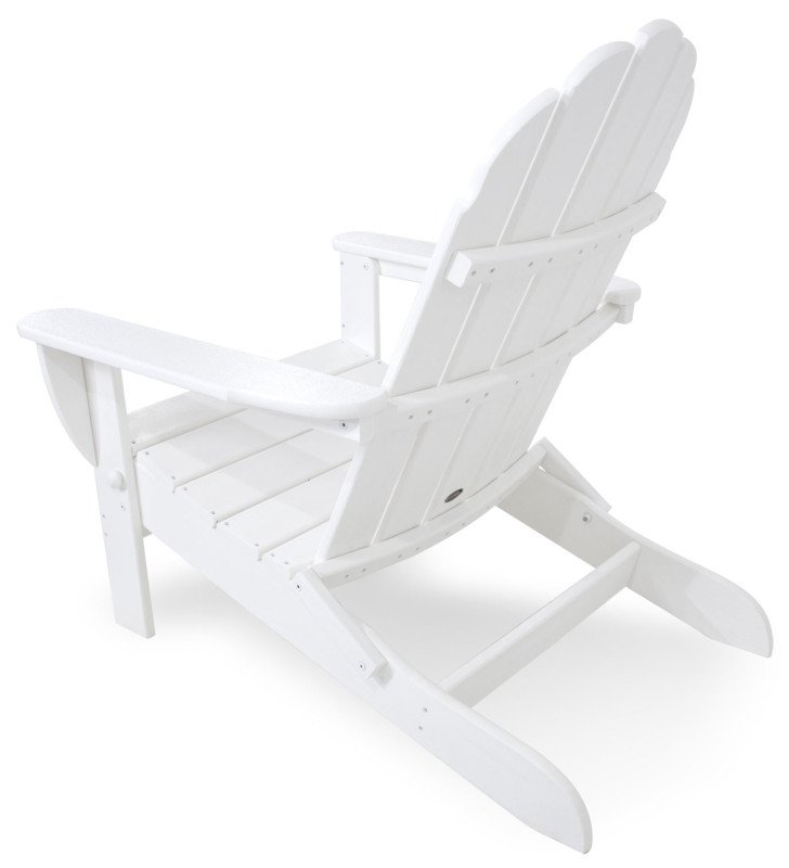 polywood adirondack chair klappbar weiss casa bruno. Black Bedroom Furniture Sets. Home Design Ideas