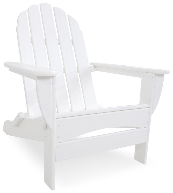 polywood adirondack chair klappbar weiss casa bruno deckenventilatoren ventiladores. Black Bedroom Furniture Sets. Home Design Ideas