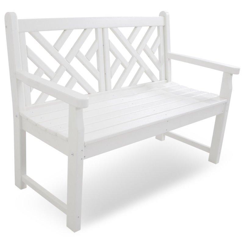 gartenbank wei kunststoff ia35 kyushucon. Black Bedroom Furniture Sets. Home Design Ideas