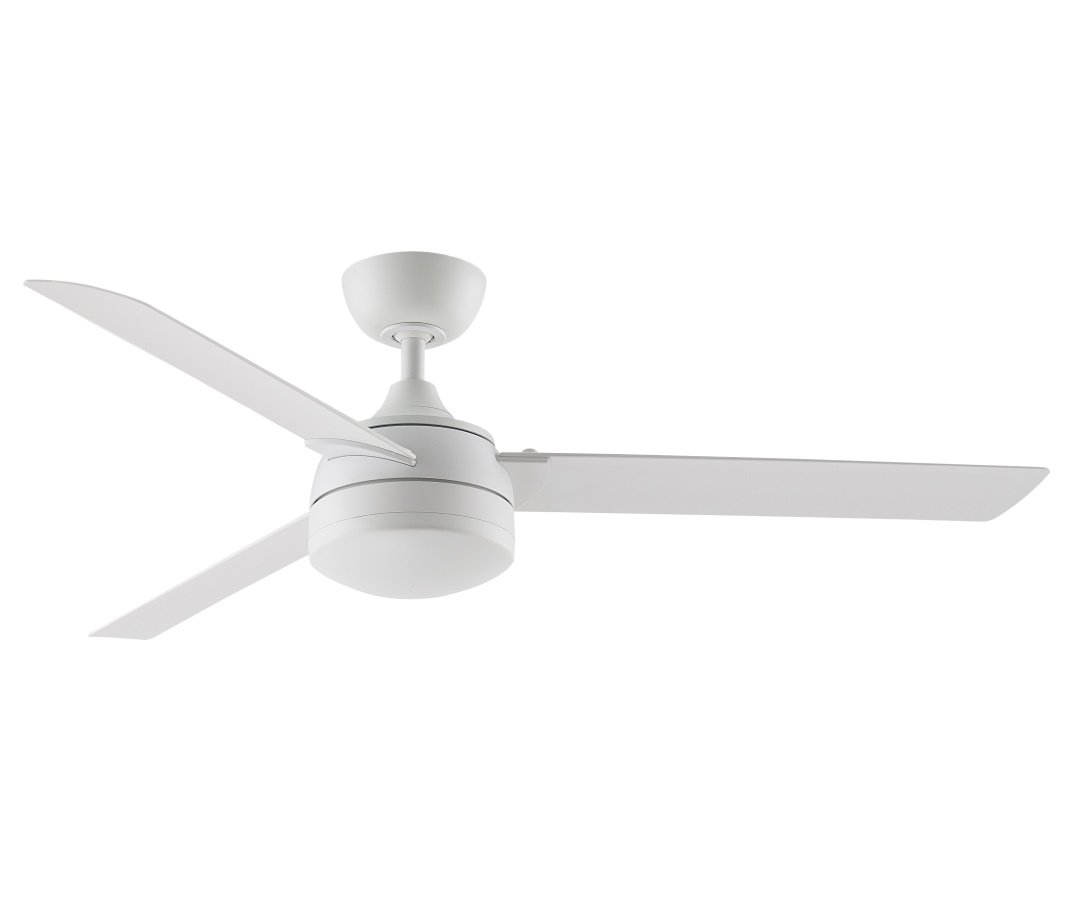 Xeno Outdoor Ceiling Fan Ø 142 Cm With Without Light Matte White For