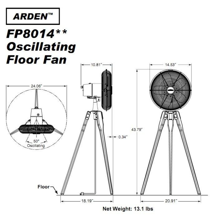arden floor fan – gurus floor