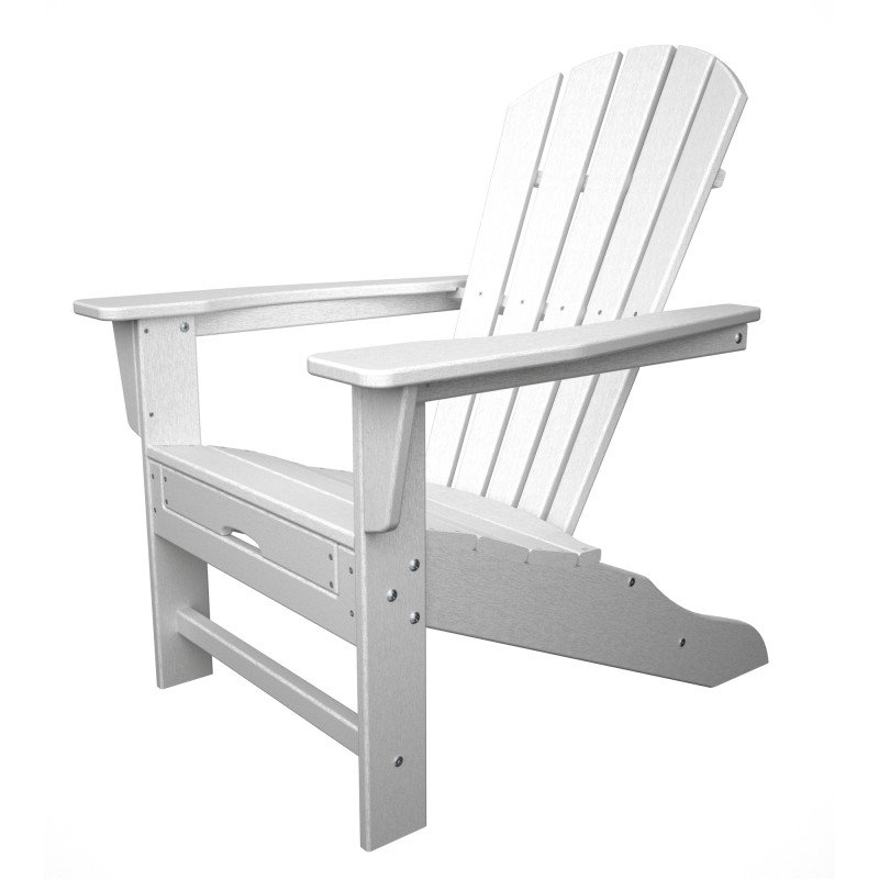 polywood adirondack chair liegestuhl mit fussteil weiss. Black Bedroom Furniture Sets. Home Design Ideas