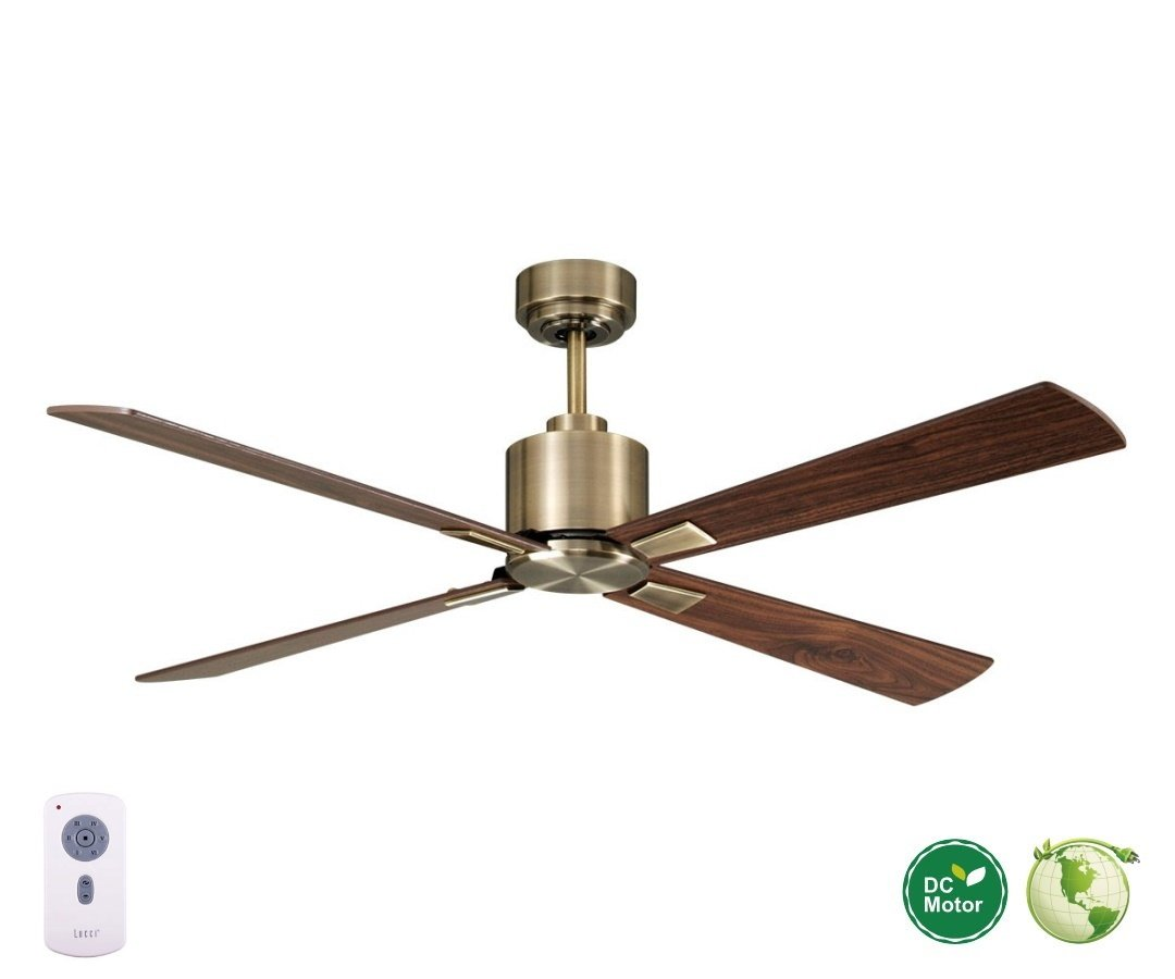 fan saving cb energy ceiling ceilings energiesparend walnut motor cm brass lucci deckenventilator american bruno dc antique homedecor climate casa