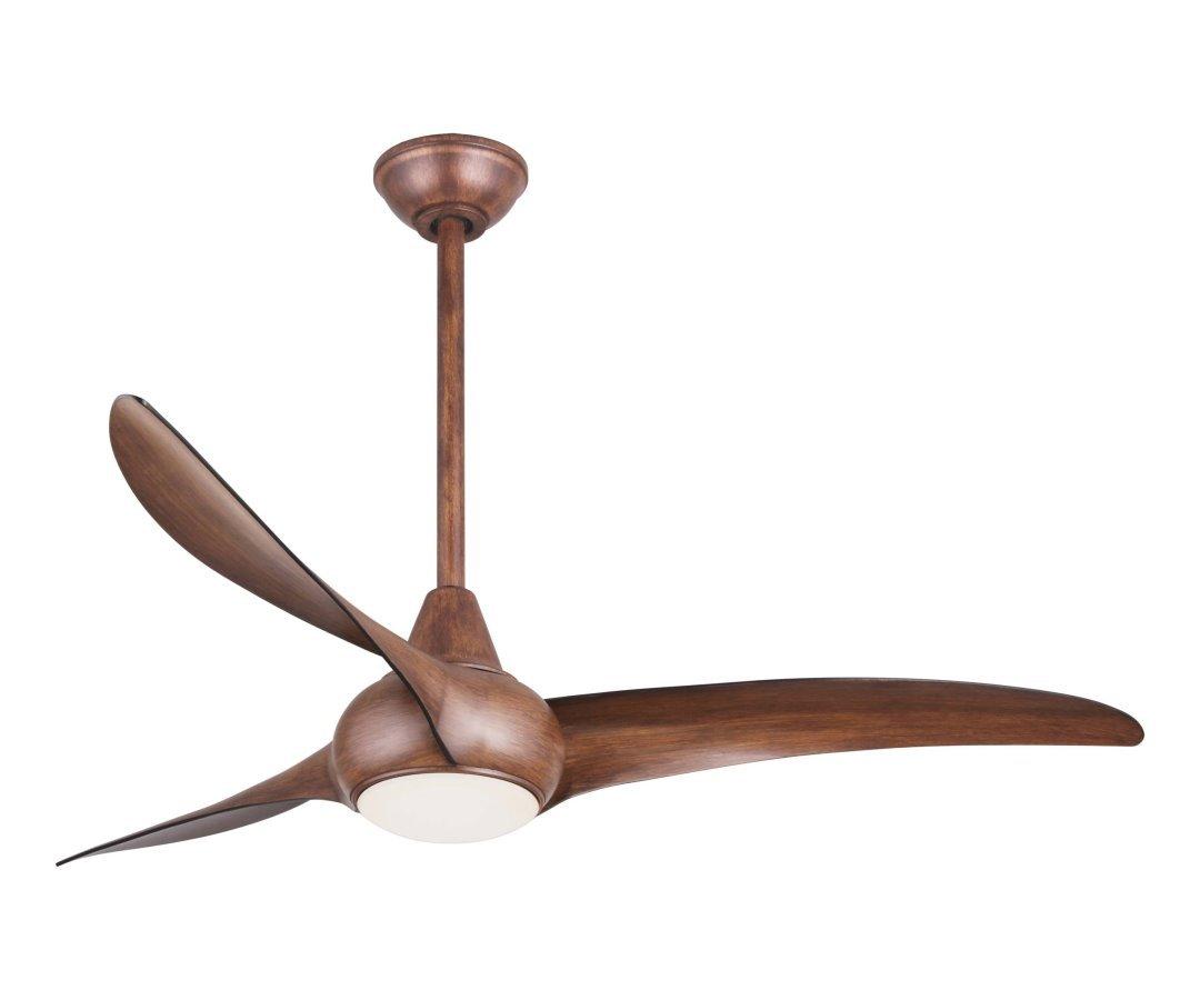 WAVE Ventilator von Minka mit Halogenlicht Casa Bruno ceiling