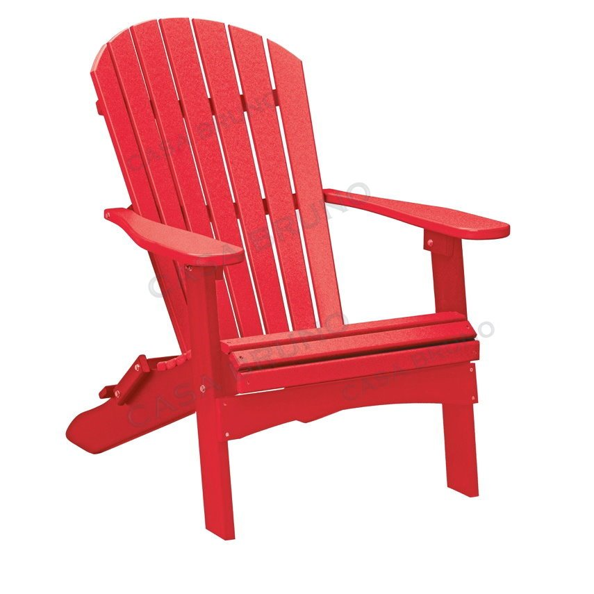 alabama adirondack chair alsterstuhl rot casa bruno. Black Bedroom Furniture Sets. Home Design Ideas