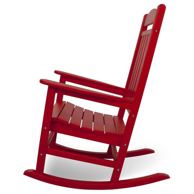 pr sidenten schaukelstuhl 39 presidential 39 in rot casa. Black Bedroom Furniture Sets. Home Design Ideas