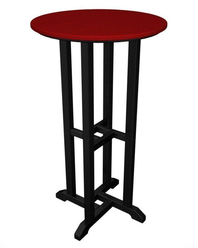 set bestehend aus contempo bar tisch 61 cm 4 counter hocker hdpe k. Black Bedroom Furniture Sets. Home Design Ideas