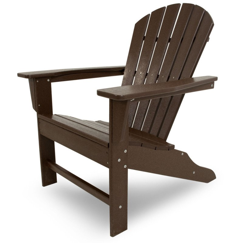 South Beach Adirondack Chair Alsterstuhl mahagoni braun, Casa Bruno ...