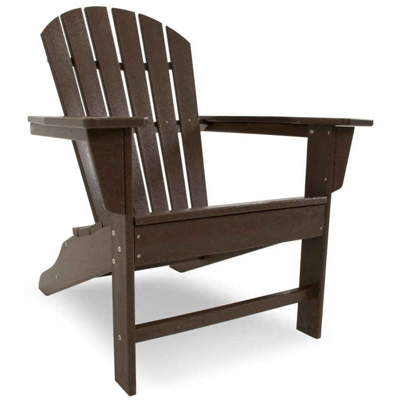 south beach adirondack chair alsterstuhl mahagoni braun. Black Bedroom Furniture Sets. Home Design Ideas
