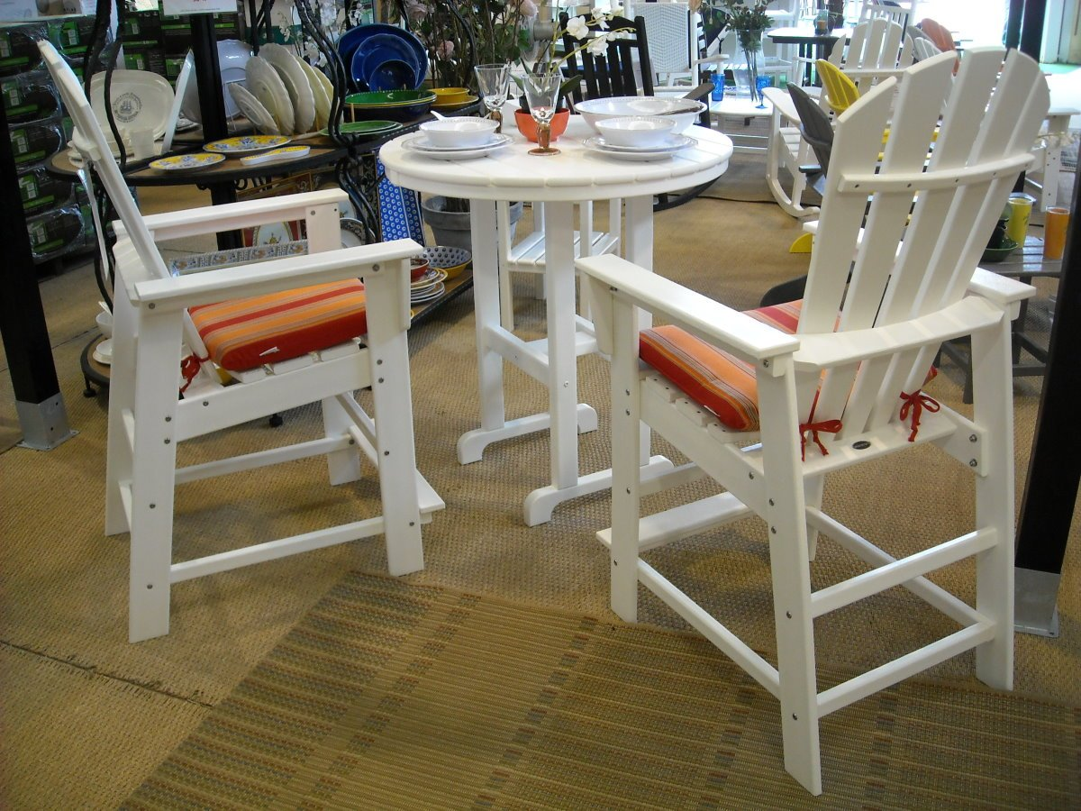 South Beach Counter Height Dining Set 2 Chairs 2