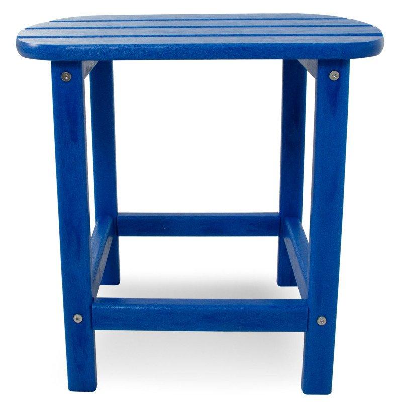 beistelltisch aus polywood blau casa bruno deckenventilatoren ventiladores polym bel. Black Bedroom Furniture Sets. Home Design Ideas
