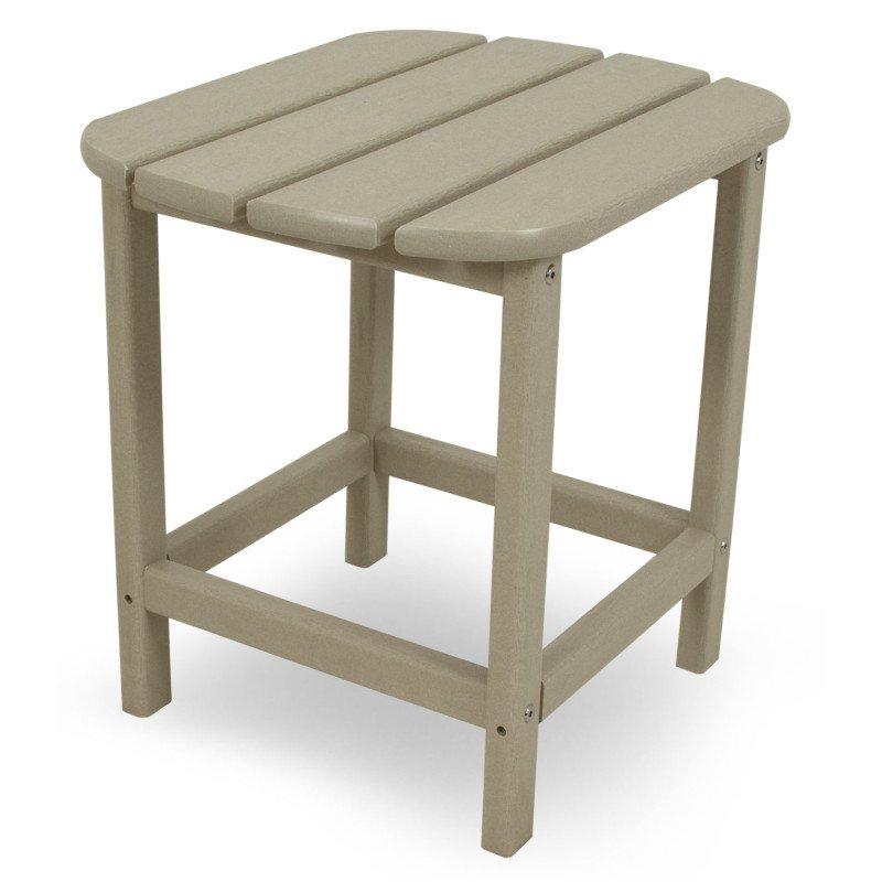 beistelltisch aus polywood sandfarben casa bruno deckenventilatoren ventiladores. Black Bedroom Furniture Sets. Home Design Ideas