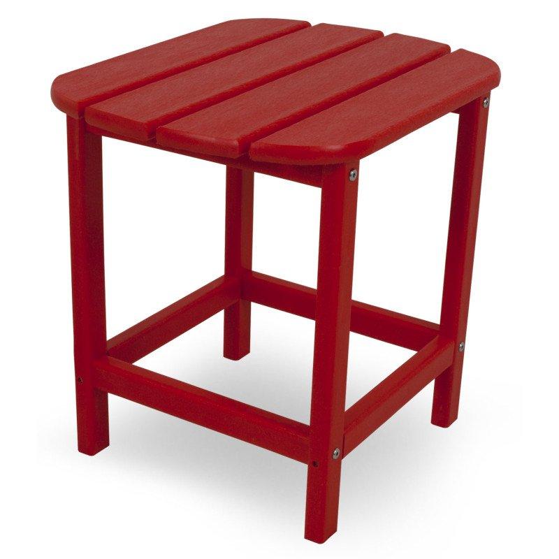 beistelltisch aus polywood rot casa bruno deckenventilatoren ventiladores polym bel. Black Bedroom Furniture Sets. Home Design Ideas