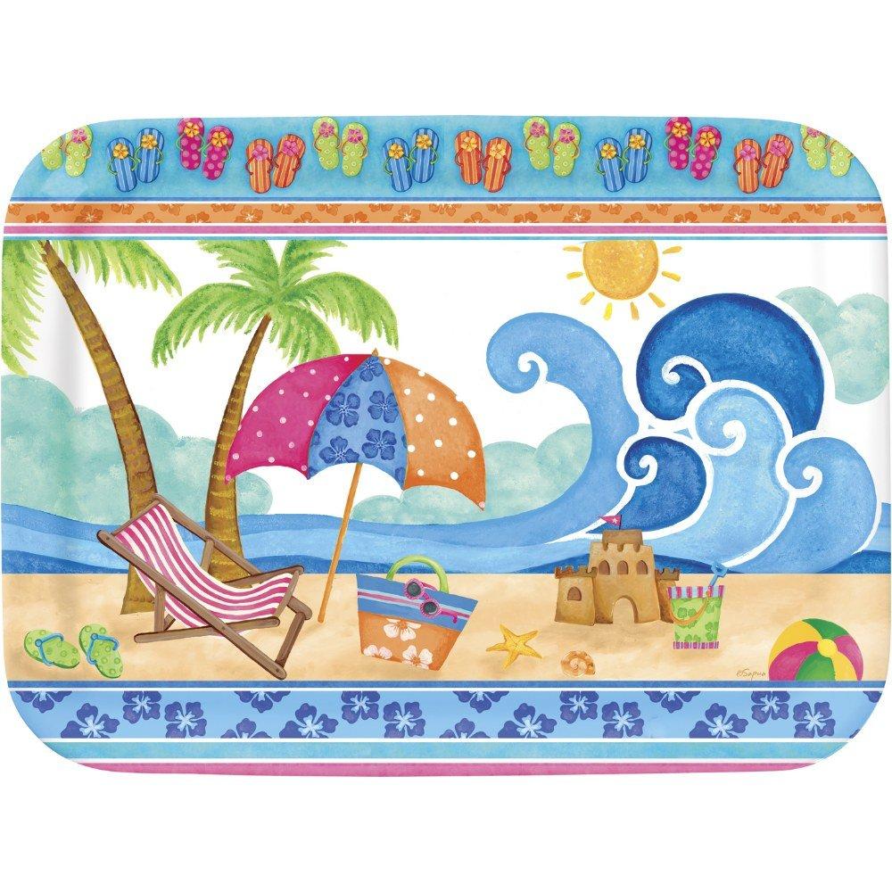Beach Party Tablett Rechteckig 43x33 Cm 26 00 Casa