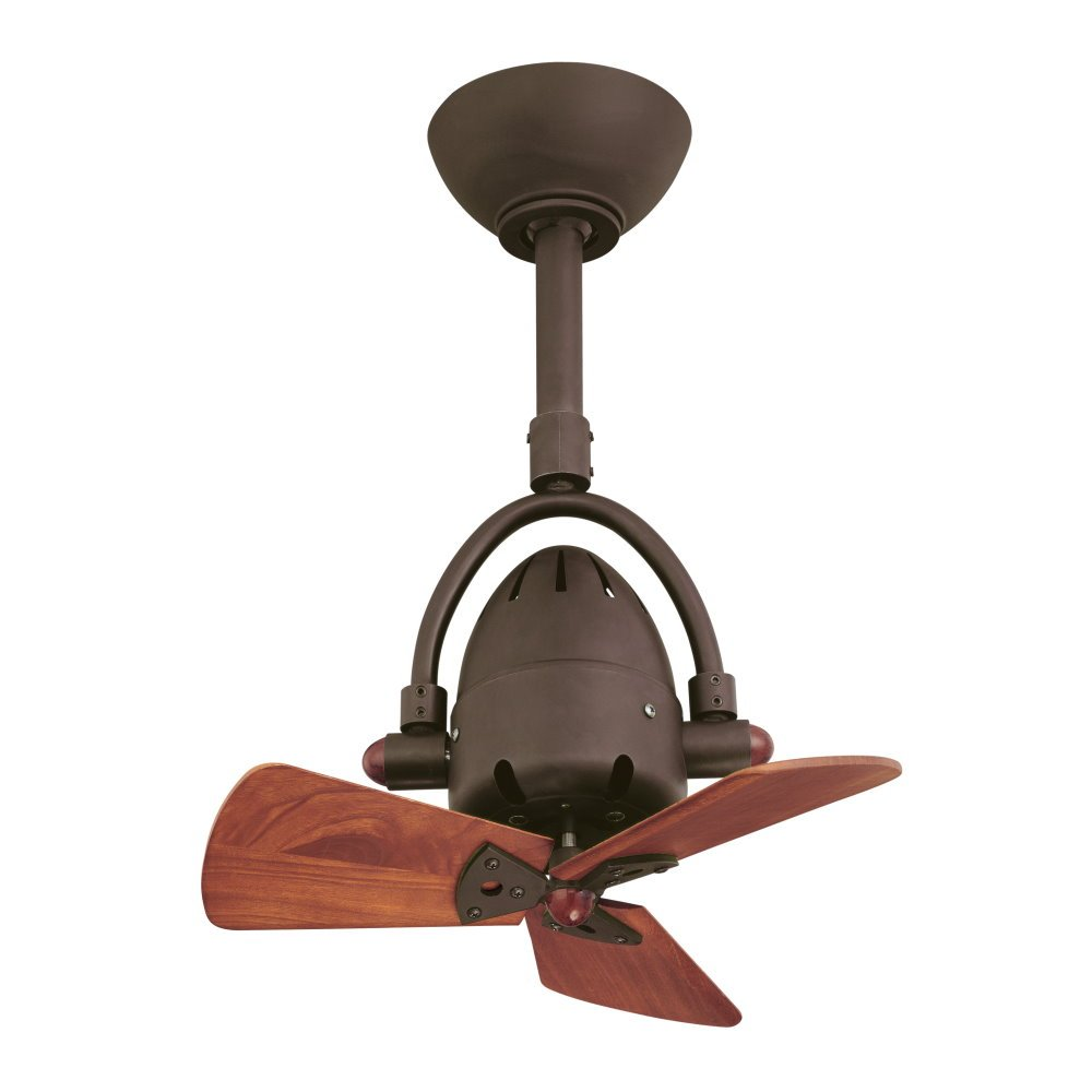 Diane oszillierender Ventilator, bronze dunkel