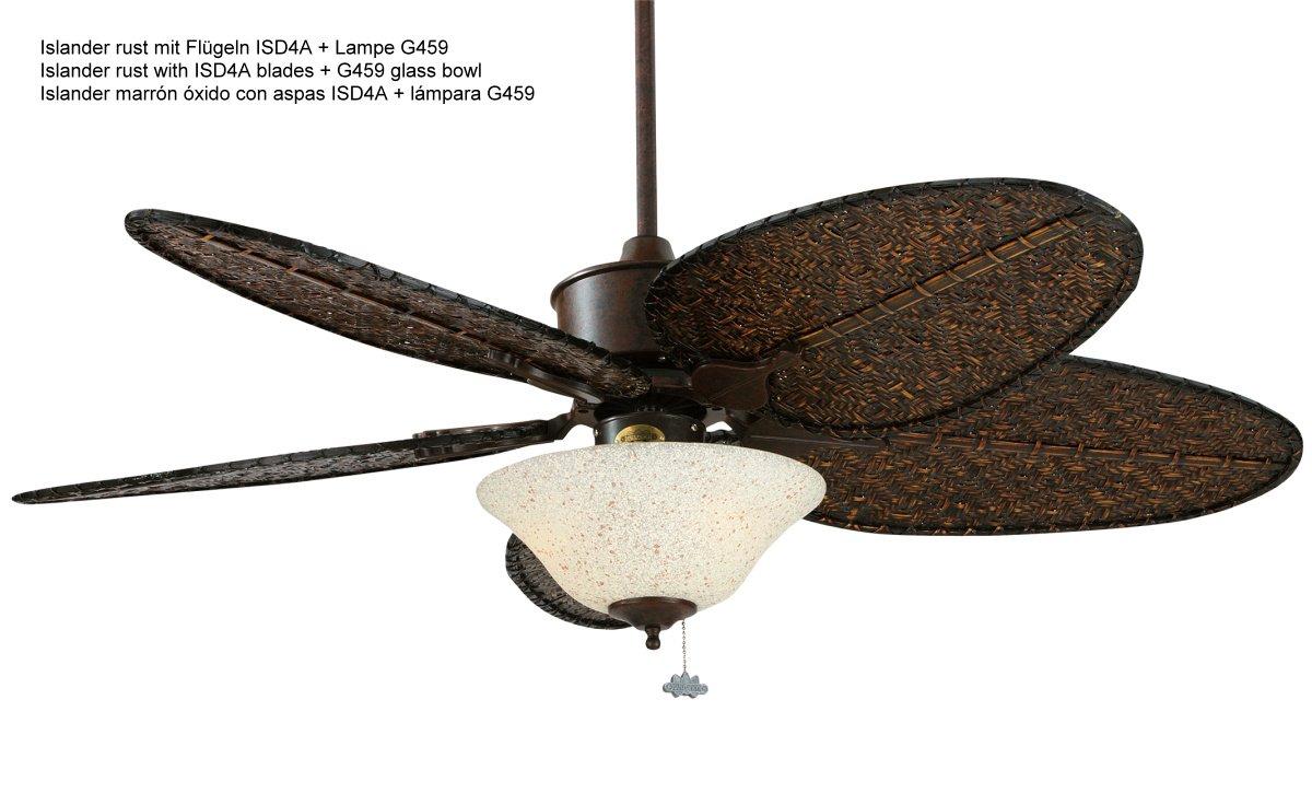 Islander ceiling fan rust isd1a 70900 casa bruno ceilin isd1a islander ceiling fan rust aloadofball Images