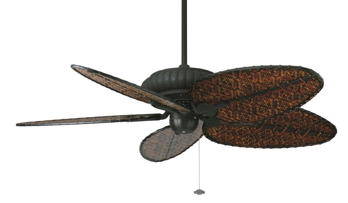 belleria outdoorventilator von fanimation, in schwarz, casa bruno