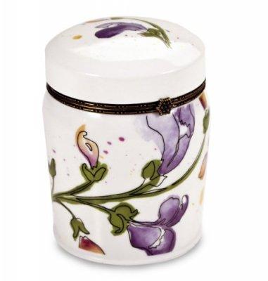oakmoss duftkerze in einer romantischen keramikdose mit deckel 21 00. Black Bedroom Furniture Sets. Home Design Ideas