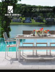 Casa Bruno Berlin Gardens Outdoormöbel Katalog 2018