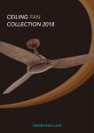 Casa Bruno BiFan ceiling fans 220 Volt catalog 2018